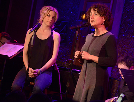 Jenn Colella and Marya Grandy