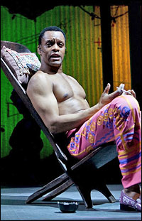 Kevin Mambo in <i>Fela!</i>