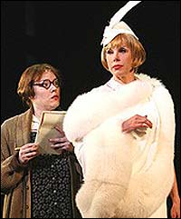 From left: Emily Skinner and Christine Baranski in the Kennedy Center production of <i>Mame</i>.