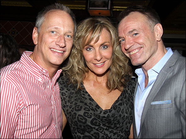 Devin Keudell, Judy McLane and Brent Black