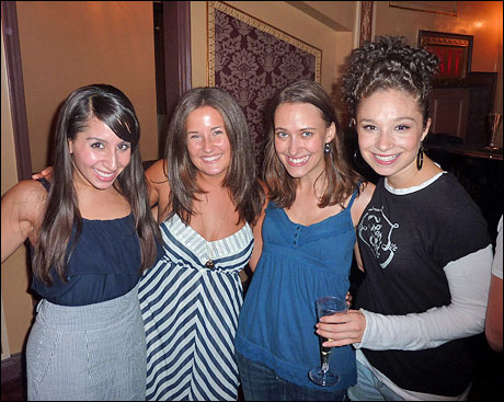 Company members Natalie Gallo, Rachel Frankenthal, Felicity Claire and Traci Victoria