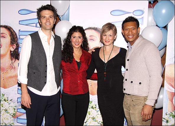 Blake Whyte, Deanna Aguinaga, Corinne Melancon and Albert Guerzon