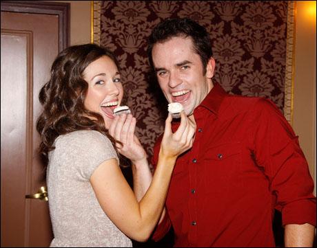 Liana Hunt and Corey Greenan
