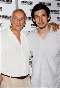 Frank Langella and Adam Driver