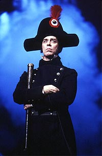 Terrence Mann as Inspector Javert in <I>Les Mis