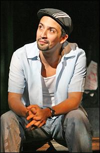 Lin-Manuel Miranda in <i>In the Heights</i>