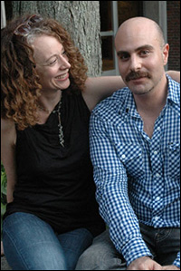 Director Rebecca Taichman and playwright David Adjmi