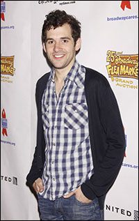 Adam Chanler-Berat at the 2011 Flea Market