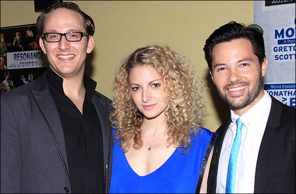 John Bell, Lauren Molina and Jason Tam
