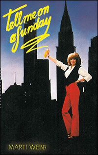 Marti Webb on the <i>Tell Me on a Sunday</i> CD cover