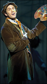 Gavin Creel in the West End production of <i>Mary Poppins</i>.