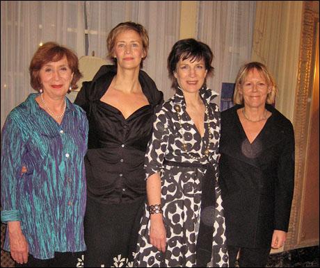 Maria Tucci, Janet McTeer, Harriet Walter and director Phyllida Lloyd