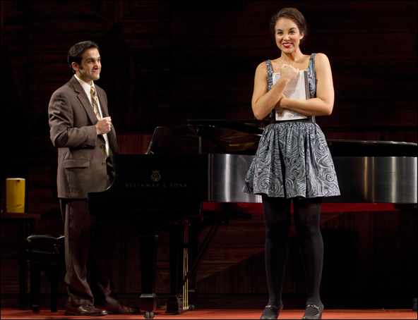 Jeremy Cohen and Alexandra Silber in Master Class, nominated for Best Revival of a Play