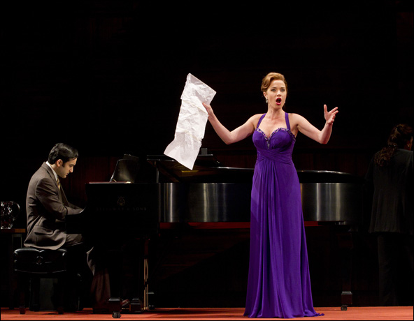 Jeremy Cohen and Sierra Boggess in Master Class, nominated for Best Revival of a Play