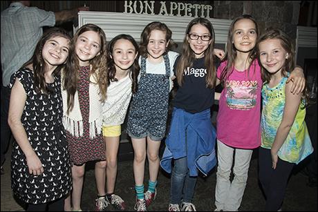 Gabriella Pizzolo, Paige Brady, Ava Ulloa, Ripley Sobo, Bailey Ryon, Oona Laurence and Sophia Gennusa