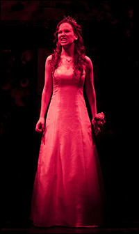 Molly Ranson in <i>Carrie</i>.