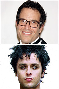 Michael Mayer and Billie Joe Armstrong