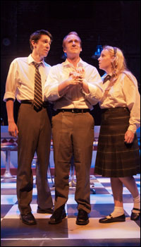 Nate Golden, Jim Hogan and Breanna Pursell