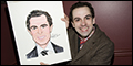 Chaplin Star Rob McClure Honored With Sardi's Caricature