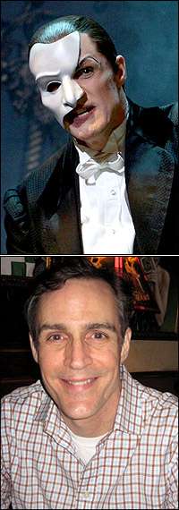 Howard McGillin in and out of <I>Phantom</I>
