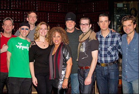 Darlene Love and the cast of Million Dollar Quartet
