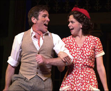 James Brennan and Sutton Foster in Me and My Girl at Pittsburgh CLO