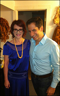 Seth with Megan Mullally