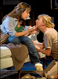 Leslie Kritzer and Catherine Cox in the Barrington production.
