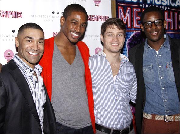 Sam J. Cahn, Tyrone Jackson, Bryan Langlitz and Darius Barnes