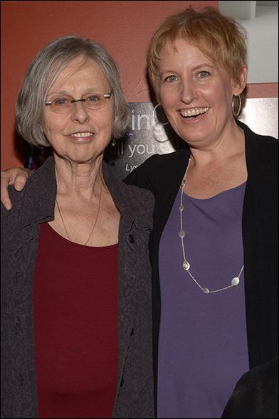 Sybille Pearson and Liz Callaway