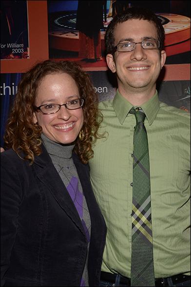 Lynne Shankel and Zach Redler