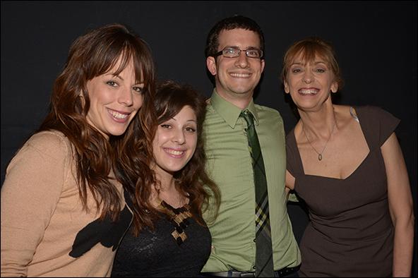 Leslie Kritzer, Sara Cooper, Zach Redler and Catherine Cox