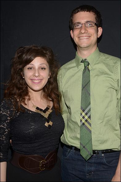 Sara Cooper and Zach Redler