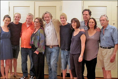 Natalia Payne, Zachary Booth, Brian Murray, Elizabeth Ashley, Stephen Payne, Preston Sadleir, Leslie Marcus, Tim Sanford, Emily Mann and Edward Albee