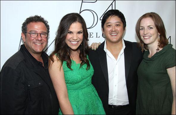 Michael Greif, Lindsay Mendez, Marco Paguia and Carmel Dean
