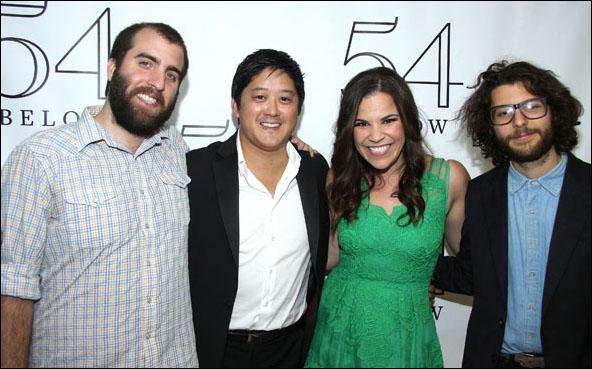 Chris Tordini, Marco Paguia, Lindsay Mendez and Tommy Crane