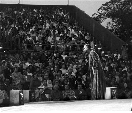 George C. Scott in The Merchant of Venice, 1962