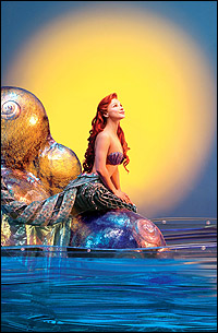 <I>The Little Mermaid</I> star Chelsea Morgan Stock.