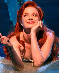 Sierra Boggess is <i>The Little Mermaid</i>.