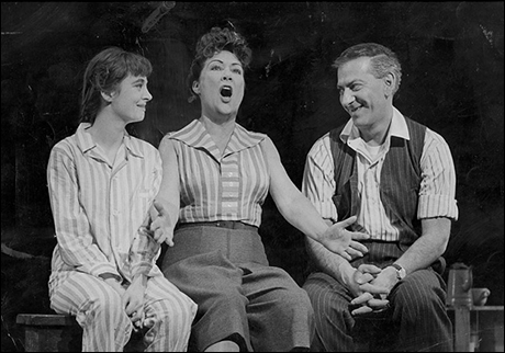 Sandra Church, Ethel Merman and Jack Klugman in the original Broadway production