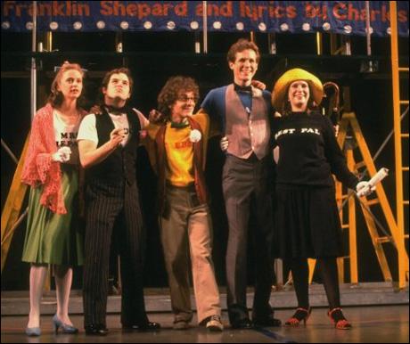 Sally Klein, Jason Alexander, Lonny Price, Jim Walton and Ann Morrison