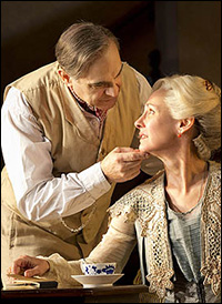 David Suchet and Laurie Metcalf in <i>Long Day&#39;s Journey Into Night</i>