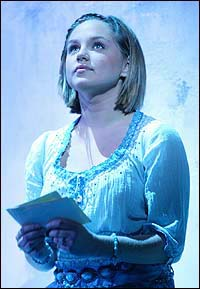 Anna Madgett in the Toronto production of <I>Mamma Mia!</I>