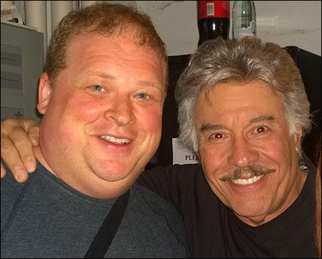 Good night Tony Orlando. What a sweet guy. Tony came backstage to wish us all well after the show. 10:49pm