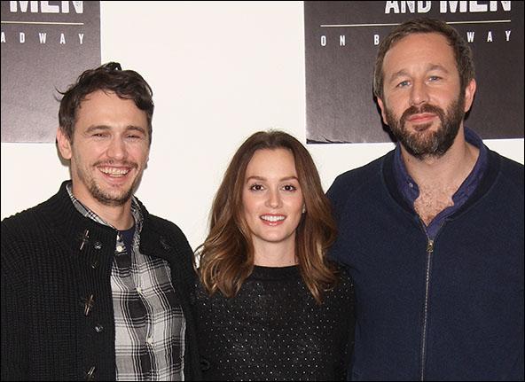 James Franco, Leighton Meester and Chris O'Dowd