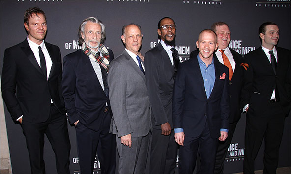 Jim Parrack, Stephen Payne, Jim Ortlieb, Ron Cephas Jones, Alex Morf, Joel Marsh Garland and James McMenamin