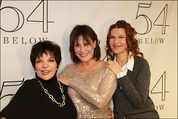 Liza Minnelli, Michele Lee and Sandra Bernhard