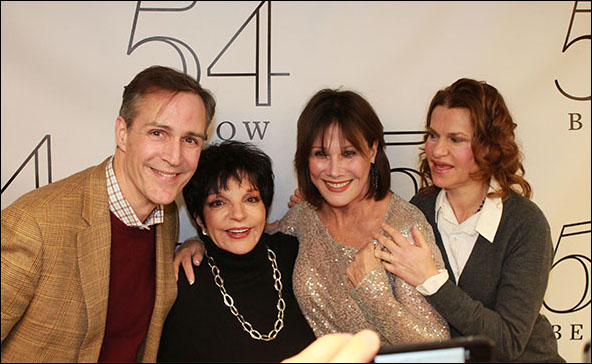 Howard McGillin, Liza Minnelli, Michele Lee and Sandra Bernhard