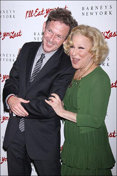 John Logan and Bette Midler