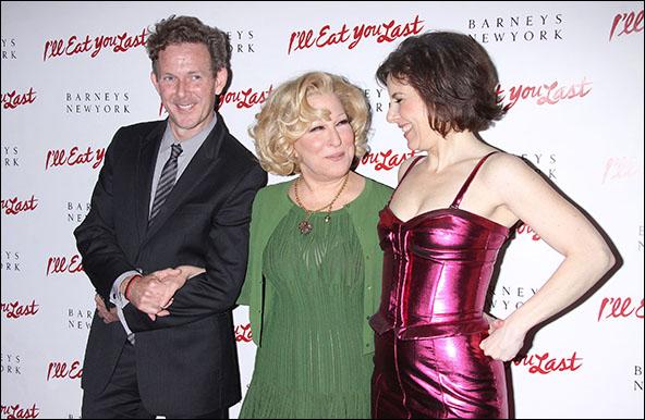 John Logan, Bette Midler and Arielle Tepper Madover